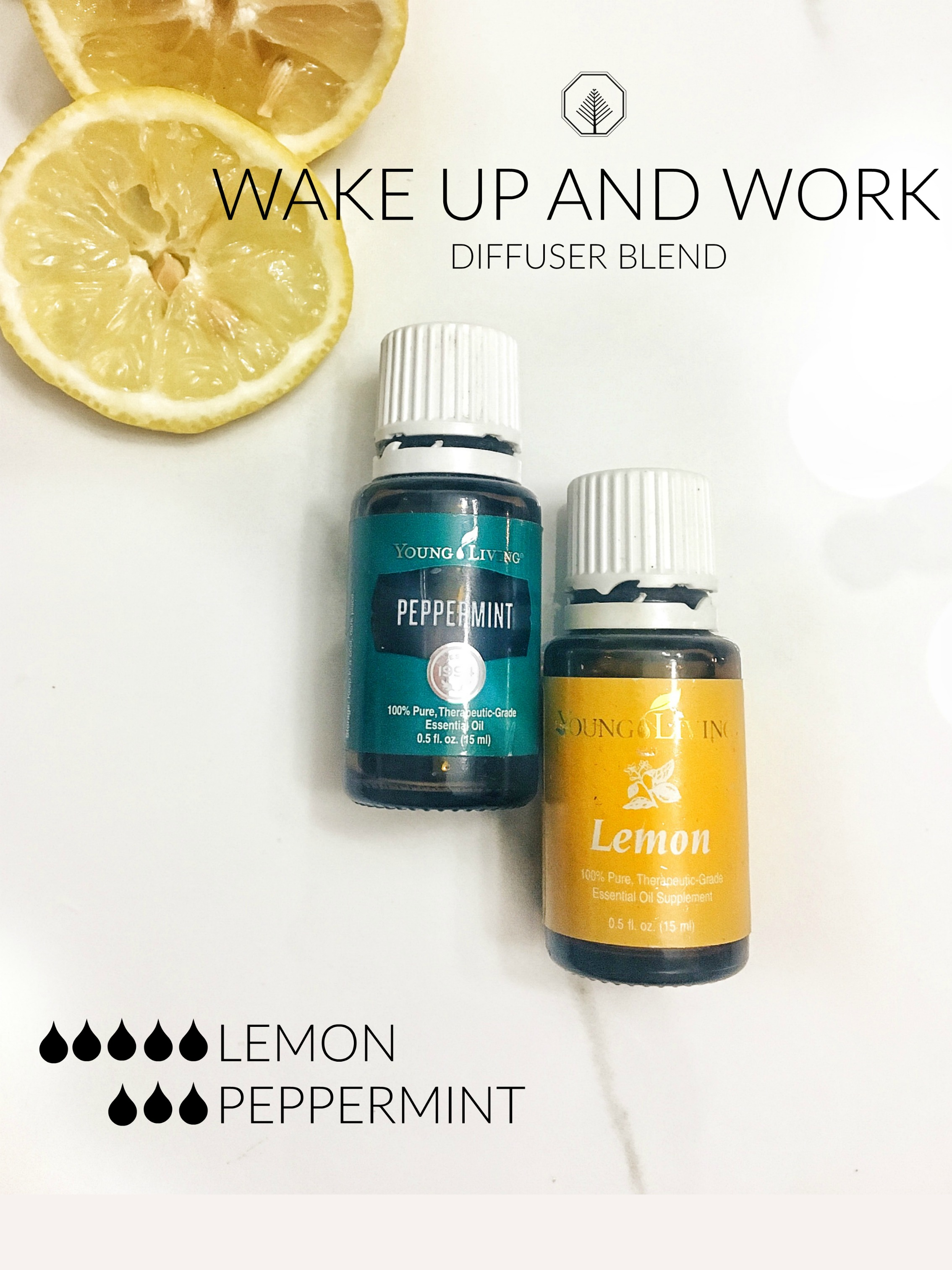 Wake Up And Work Essential Oil Diffuser Blend Saturdaeo Handrafted